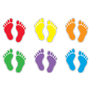 Trend Enterprises T-10929 Footprints Variety Pk Classic Accents