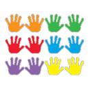 Trend Enterprises T-10930 Handprints Variety Pk Classic Accents