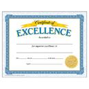Trend Enterprises T-11301 Certificate Of Excellence 30/Pk