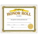 Trend Enterprises T-11307 Certificate Of Honor Roll 30/Pk