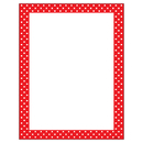 Trend Enterprises T-11426 Polka Dots Red Terrific Papers