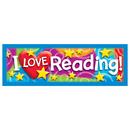 Trend Enterprises T-12070 I Love Reading Stars N Swirls Bookmarks