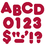 Trend Enterprises T-1599 Ready Letters 4 Inch Casual Maroon