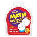 Trend Enterprises T-1672 Math Wheel Flash Cards 12/Pk Addition & Subtraction