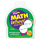 Trend Enterprises T-1673 Math Wheel Flash Cards 12/Pk Multiplication & Division