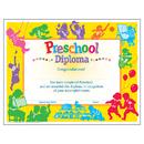 Trend Enterprises T-17001 Classic Diploma Preschool 30/Pk 8-1/2 X 11