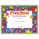 Trend Enterprises T-17006 Preschool Certificate 30/Pk