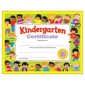Trend Enterprises T-17008 Kindergarten Certificate 30/Pk, Price/EA