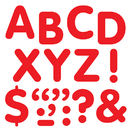Trend Enterprises T-1786 Stick-Eze 2 In Letters & Marks Red