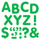 Trend Enterprises T-1790 Stick-Eze 2In Letters & Marks Green