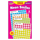 Trend Enterprises T-1942 Superspots Stickers Neon 2500/Pk Smiles