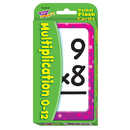 Trend Enterprises T-23006 Pocket Flash Cards 56-Pk 3 X 5 Multiplication Two-Sided Cards