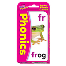 Trend Enterprises T-23008 Pocket Flash Cards Phonics 56-Pk 3 X 5 Two-Sided Cards