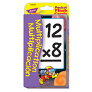 Trend Enterprises T-23035 Pocket Flash Cards Multiplication Multiplicacion