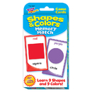 Trend Enterprises T-24007 Challenge Cards Colors And Shape