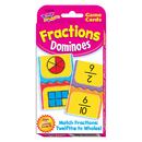 Trend Enterprises T-24009 Challenge Cards Fractions Domino