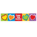 Trend Enterprises T-25709 Banner Love One Another