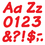 Trend Enterprises T-2700 Ready Letters 4 Inch Italic Red