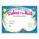Trend Enterprises T-2960 Certificate Student Of The 30/Pk Week 8-1/2 X 11