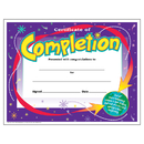 Trend Enterprises T-2963 Certificate Of Completion 30/Pk