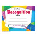 Trend Enterprises T-2965 Certificate Of Recognition Colorful 30/Pk