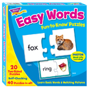 Trend Enterprises T-36007 Fun-To-Know Puzzles Easy Words