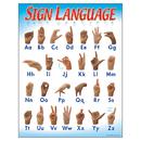 Trend Enterprises T-38039 Chart Sign Language 17 X 22 Gr 1-2