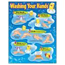 Trend Enterprises T-38085 Chart Washing Your Hands Gr Pk-5 17 X 22