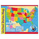 Trend Enterprises T-38097 Chart Usa Map 17 X 22 Gr 1-8