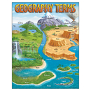Trend Enterprises T-38118 Chart Geography Terms 17 X 22