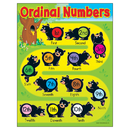 Trend Enterprises T-38206 Learning Charts Ordinal Numbers Bears