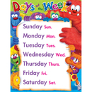 Trend Enterprises T-38426 Days Of The Week Furry Friends Learning Chart