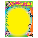 Trend Enterprises T-38441 Our Class Rules Monkey Mischief Learning Chart