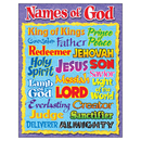 Trend Enterprises T-38703 Names Of God Learning Chart