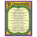 Trend Enterprises T-38709 Learning Chart Ten Commandments
