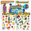Trend Enterprises T-38980 Healthy Living Learning Charts - Combo Pack