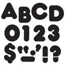 Trend Enterprises T-433 Ready Letters 2 Inch Casual Black