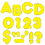 Trend Enterprises T-434 Ready Letters 2 Inch Casual Yellow