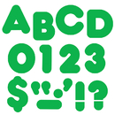 Trend Enterprises T-437 Ready Letters 2 Inch Casual Green