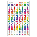 Trend Enterprises T-46036 Sticker Number Supershapes
