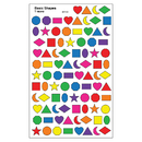 Trend Enterprises T-46040 Sticker Basic Shapes Supershapes