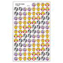Trend Enterprises T-46058 Sticker Zoo Animals Supershapes