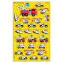 Trend Enterprises T-46301 Supershapes Rescue 184-208/Pk Vehicles Larger Size