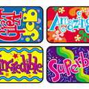 Trend Enterprises T-47131 Applause Stickers Wonderful 100/Pk Words Acid-Free