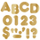Trend Enterprises T-493 Ready Letters 2 Casual Metallic Gold