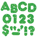 Trend Enterprises T-508 Ready Letters 2 In Casual Green Sparkle