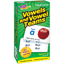 Trend Enterprises T-53008 Flash Cards Vowels & Vowel Teams 72/Box