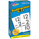 Trend Enterprises T-53103 Flash Cards Subtraction 0-12 91/Box