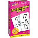 Trend Enterprises T-53104 Flash Cards Subtraction 13-18 99Box
