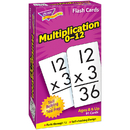 Trend Enterprises T-53105 Flash Cards Multiplication 91/Box Numbers 0-12